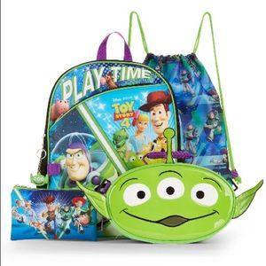 NWT toy story 4 backpack bundle